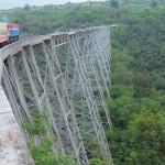 Виадук Готейк (Goteik viaduct), Мьянма