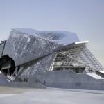 Здание неординарной формы «Музей слияния» (Musée des Confluences), Лион, Франция