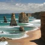 12, Двенадцать апостолов (The Twelve Apostles) – известняковые скалы в Национальном парке Порт-Кемпбелл, Австралия