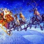 Санта-Клаус побывал в России