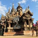 Сокровища Тайланда: Храм Истины, деревянный храм без единого гвоздя