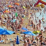 В Крыму в 2014 году отдохнули 4 млн. туристов