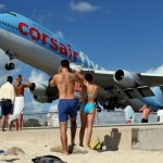 Пляж Махо (Maho Beach) – самый экстремальный пляж в мире, остров Сен-Мартен