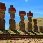 Статуи Моаи на острове Пасхи, Чили