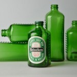 Пивная бутылка-кирпич Heineken WOBO (World Bottle) — «Всемирная бутылка»