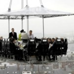 Dinner In The Sky — ресторан «Обед в небесах»