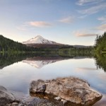 Триллиум (Trillium Lake) – живописное озеро в Орегоне, США