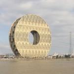 Небоскрёб «Guanghzou Circle» или «Золотой пончик», Гуанчжоу (Китай)
