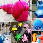 Разноцветные животные заполнят улицы Милана