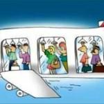 Китайская авиакомпания может ввести стоячие места