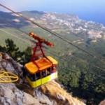 Знаменитая канатная дорога в Крыму закрылась на ремонт