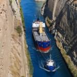 Коринфский канал (Corinth Canal) — самый большой и знаменитый канал в Греции