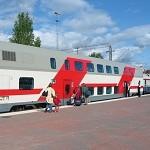 В июне между Москвой и Казанью запустят двухэтажный поезд