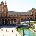 Площадь Испании (Plaza de Espana) — достопримечательность Севильи