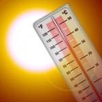 В Европе становится жарко