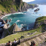 Остров Гастелугаче (San Juan de Gaztelugatxe) и его лестница c 237 ступеньками (Испания)