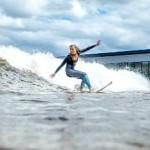 В районе Уэльса открыто первое в мире искусственное озеро для серфинга