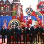 На Манежной площади запущены часы обратного отсчета до ЧМ-2018