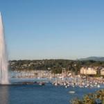 Женевский фонтан (Jet d'Eau) — визитная карта города и Швейцарской Конфедерации