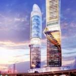 Небоскреб с пляжами на крыше появится в Дубае