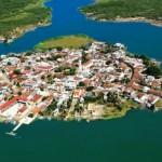 Мескальтитан (Mexcaltitan) – город среди воды, Мексика