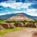 Мексиканские пирамиды — вид сверху