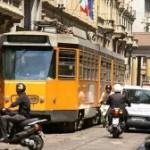 Милан запретил движение автомобилей