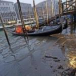 Каналы Венеции пересыхают