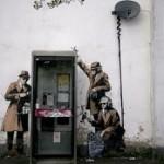 Дом с рисунком Бэнкси продается в Англии