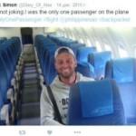 Авиакомпания совершила рейс с одним пассажиром на борту