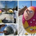 Гигантские пасхальные яйца распишут в Сочи