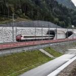 Самый глубокий и длинный ж/д тоннель запустят в Швейцарских Альпах