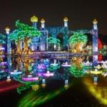 Светящийся сад в Дубаи — Dubai Garden Glow