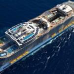 Крупнейший круизный лайнер в мире отправился в первое плавание