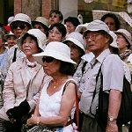 По безвизовому обмену РФ посетили 230 тыс. туристов из Китая
