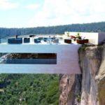 Ресторан над пропастью — Biré Bitori с видом на Медный каньон, Мексика