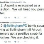 Аэропорт в Вашингтоне эвакуирован из-за обнаружения следов взрывчатки