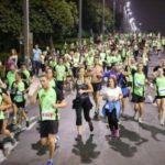 Ночной забег пройдет в Тель-Авиве