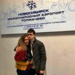 Житель Новосибирска позвал девушку замуж по громкой связи в самолете