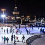 Первые катки откроются в Москве уже в середине ноября