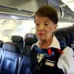 Самая старая в мире стюардесса работает уже почти 60 лет