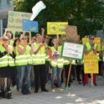 Забастовки в аэропортах Берлина привели к отмене 650 рейсов