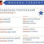 Плакаты с правилами русского языка появятся в Москве