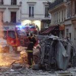 Мощный взрыв вцентре Парижа, есть жертвы