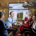 Опрос: обсуждать знакомых ссоседями покупе путешественники любят больше, чем политику