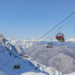Первый горнолыжный уикенд Курорт Красная Поляна посетили более 12000 гостей